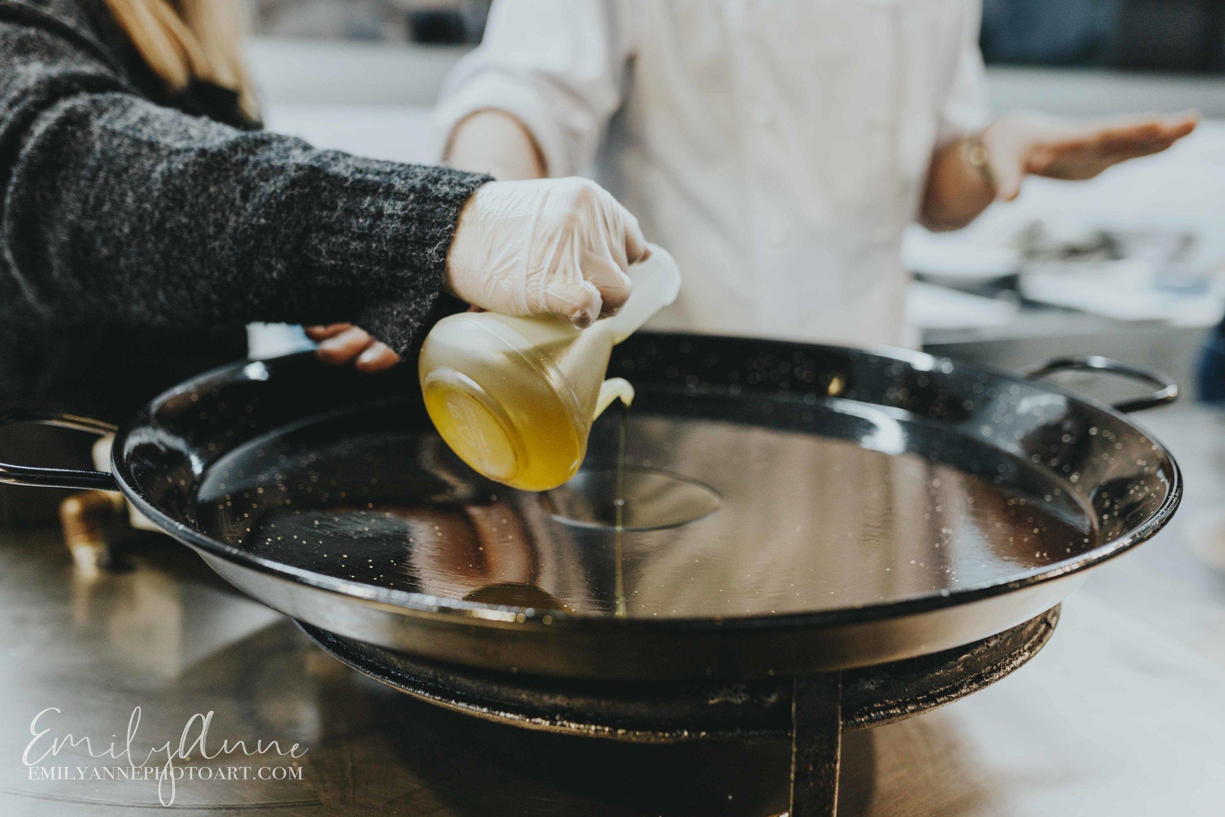 fresh vegetables to make paella de conejo y verduras