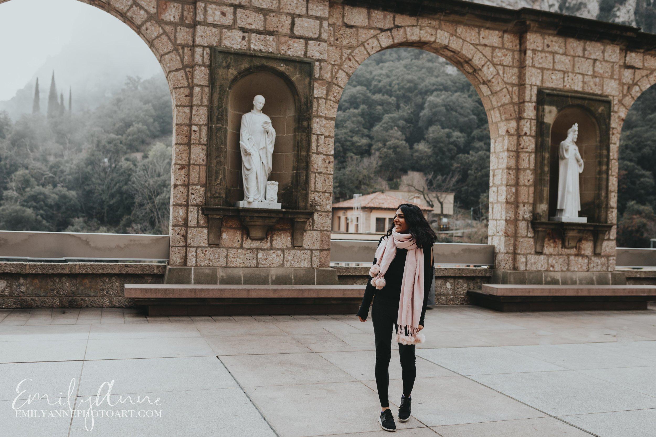 Top Barcelona Nashville Portrait/Wedding Photographer Montserrat Best places to travel from Barcelona by Photographer Emily Anne Photo Art