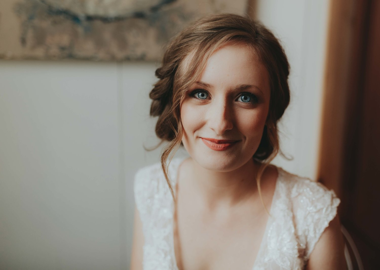 gorgeous bridal portraits natural beauty by Emily Anne Photo Art wedding photographer in Franklin Emily Anne at classic rustic look Allenbrooke Farms