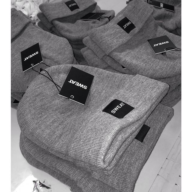 SWEAT THE STYLE @adrianneho | #headwear #Accessories #sweatthestyle  #rulela #beanies #sweat #dtla #revolveclothing #asos