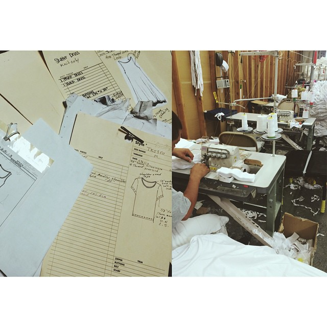 From START to FINISH We Offer: Pattern Making  Fabric&Trim Sourcing Marking&Grading Fabric Cutting&Sewing  #RuleLA Work don't stop!