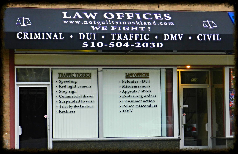 Oakland Criminal Attorney | Oakland DUI Attorney | Oakland