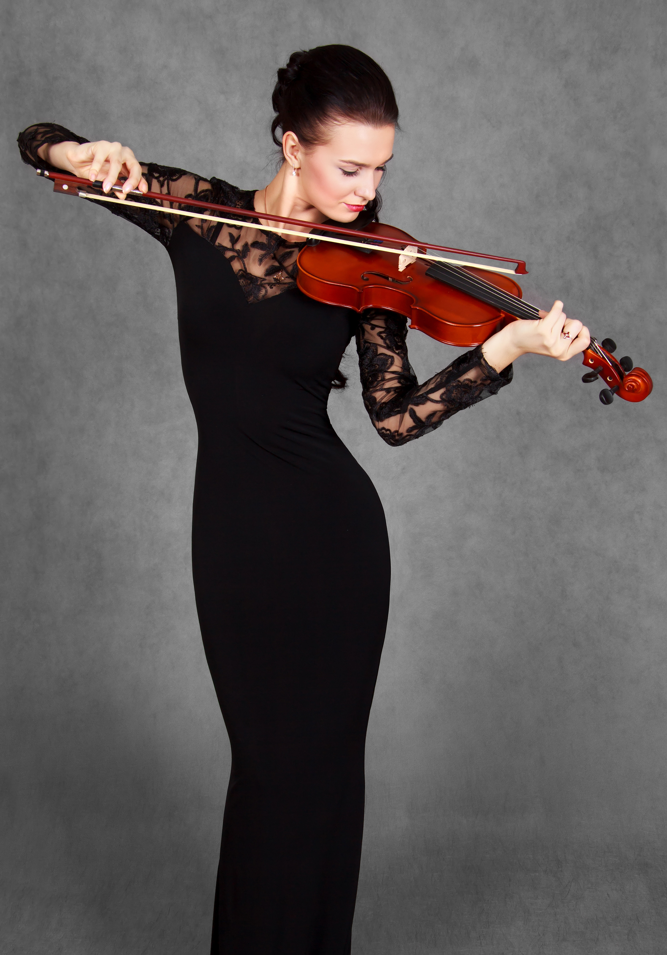 Professional Concert Dress — The Violin