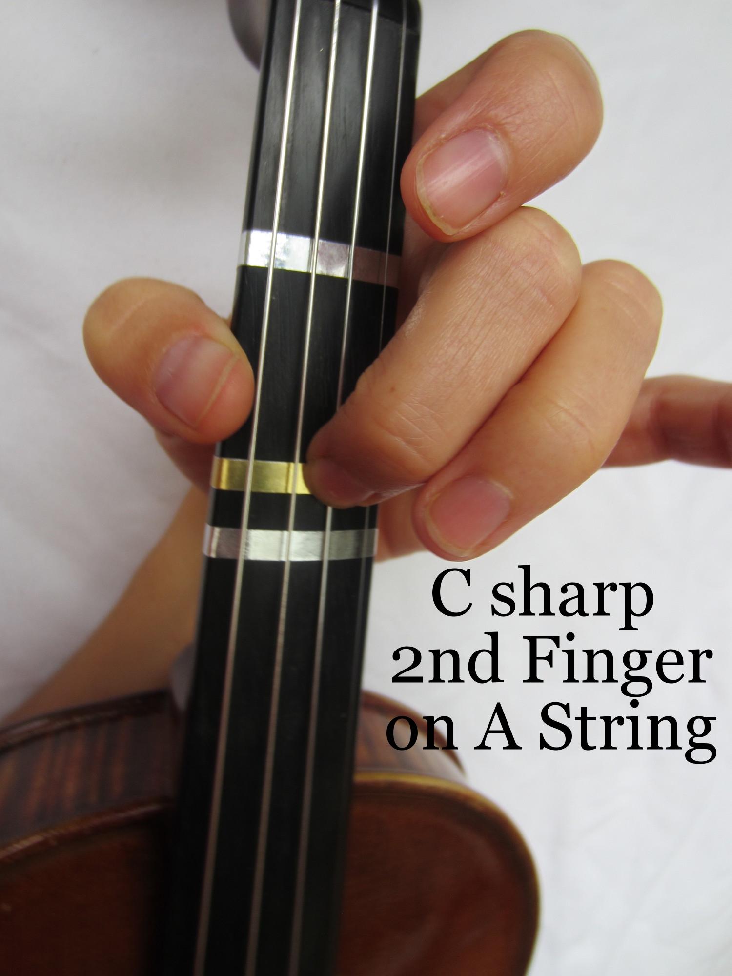 Violin Fingering C sharp on A.JPG