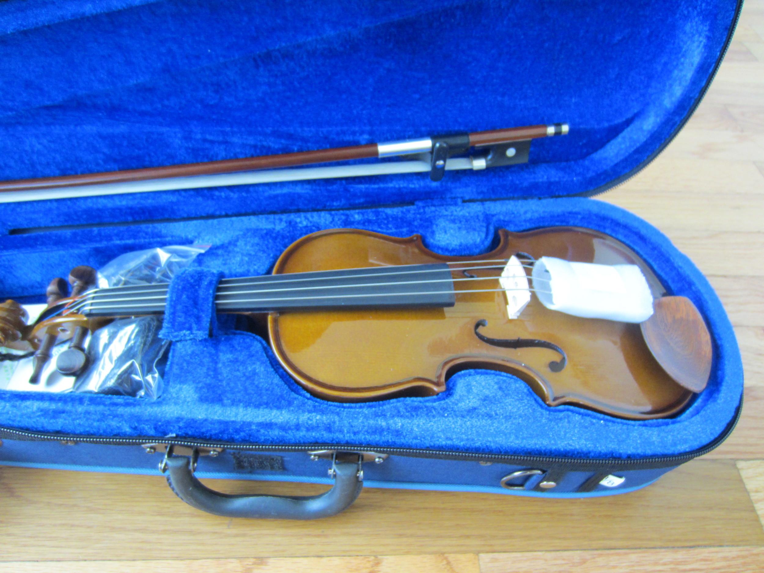 Stentor Violin in case