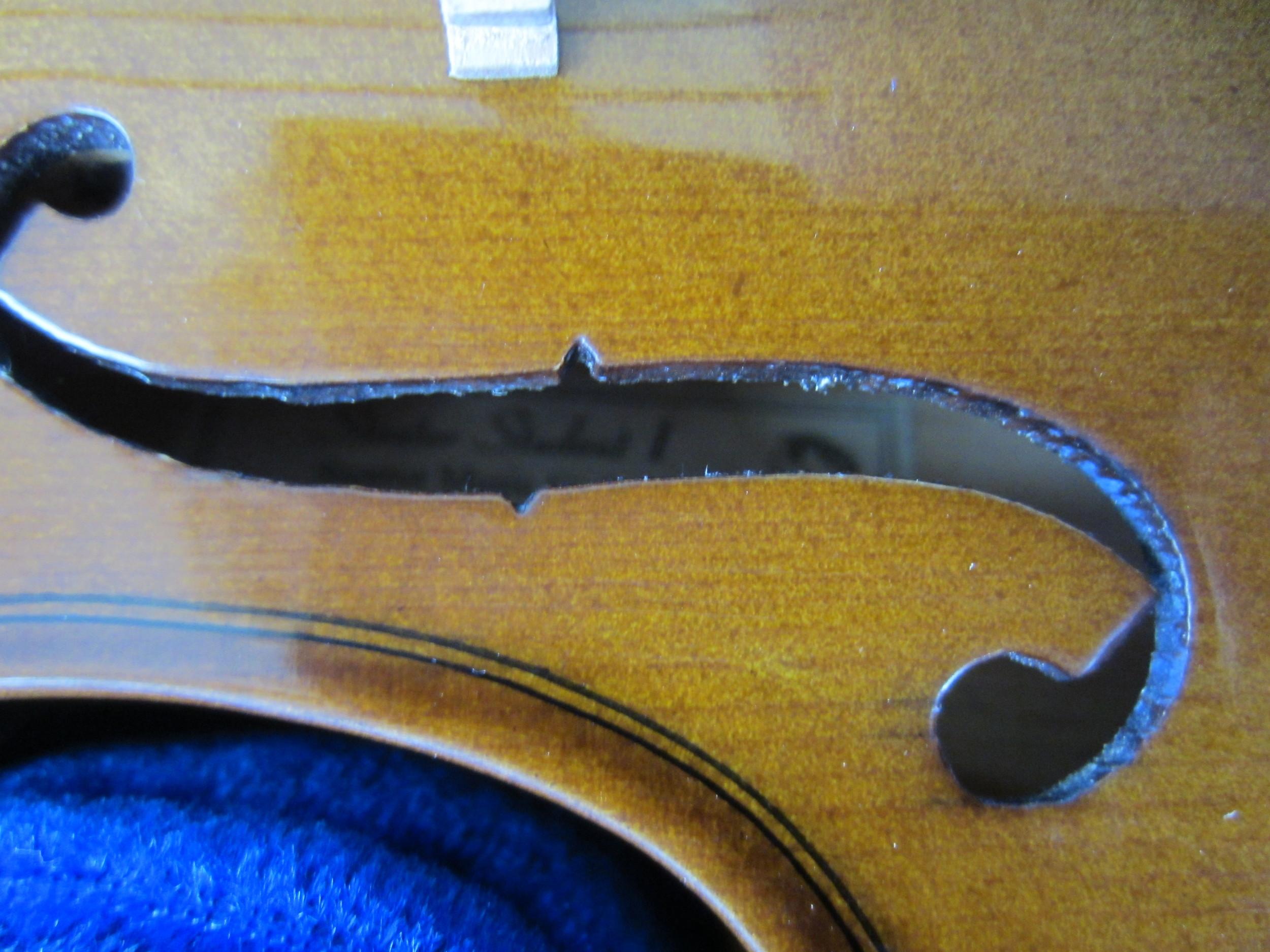 Stentor Violin Brand Label