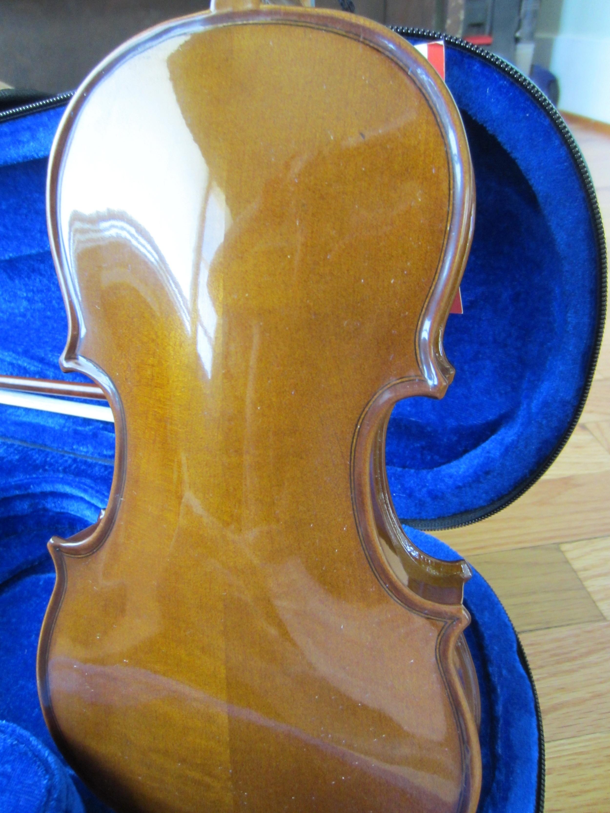 Stentor Violin Back