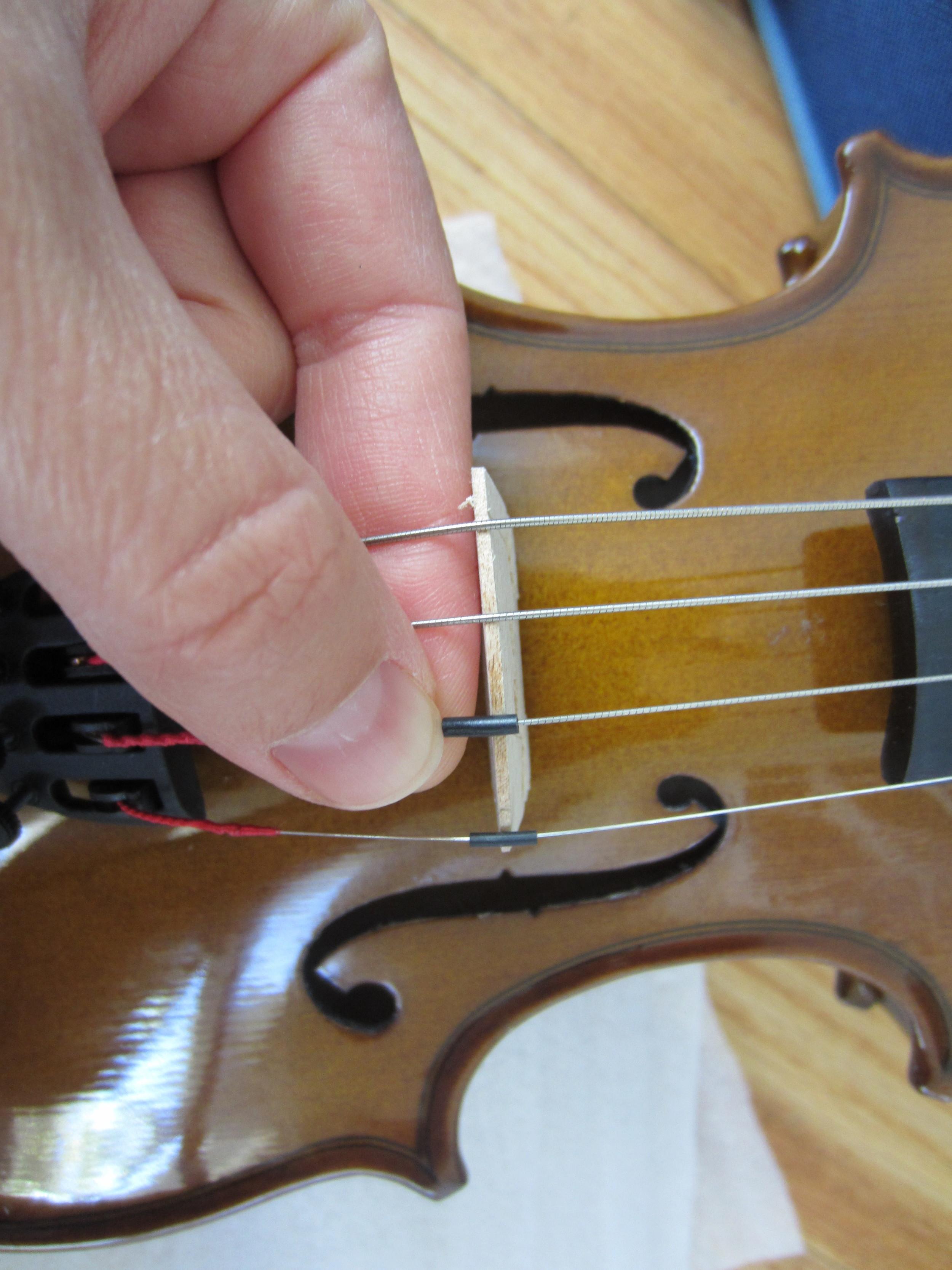 fix stentor violin strings