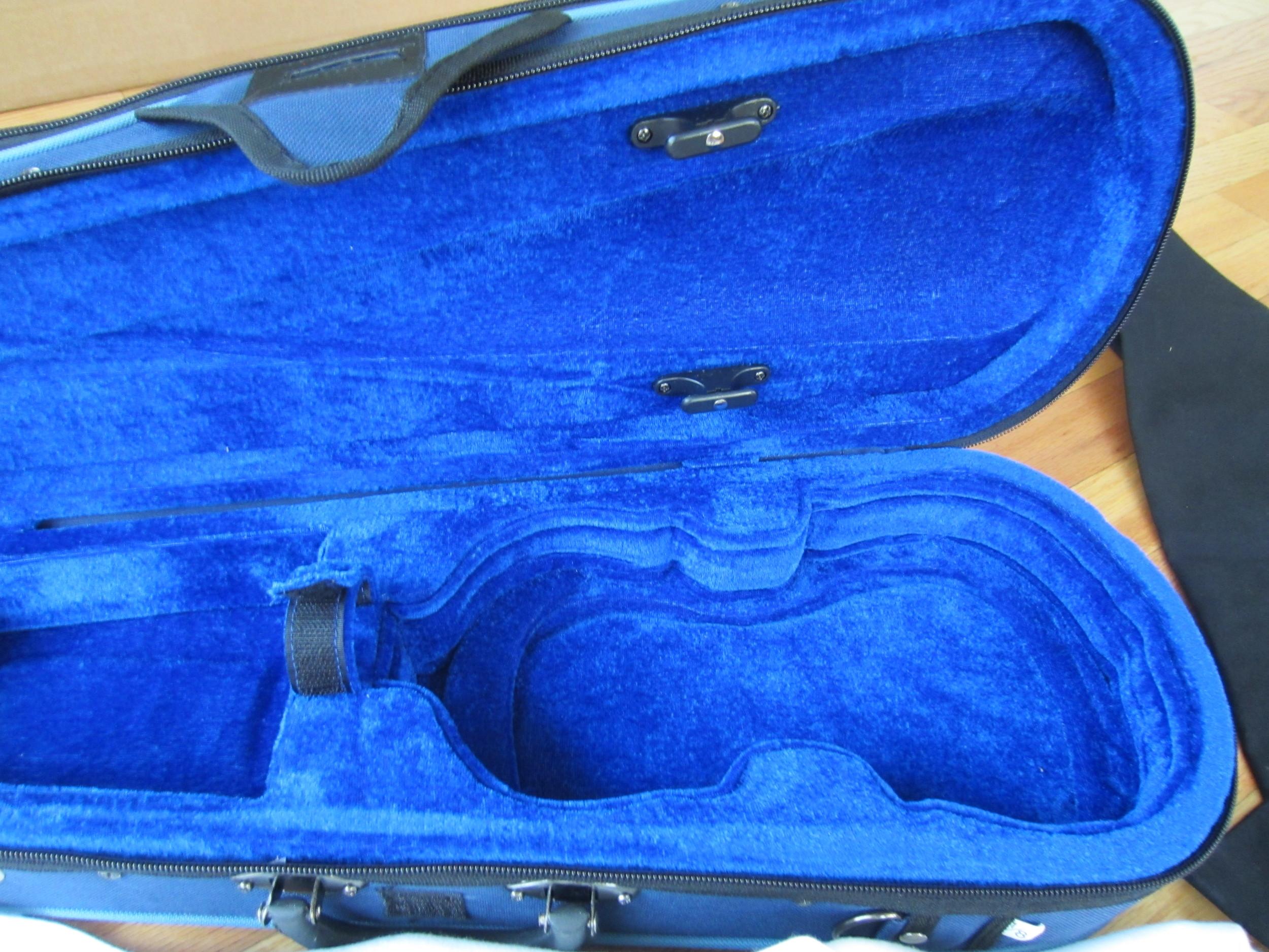 Stentor Violin Case Inside