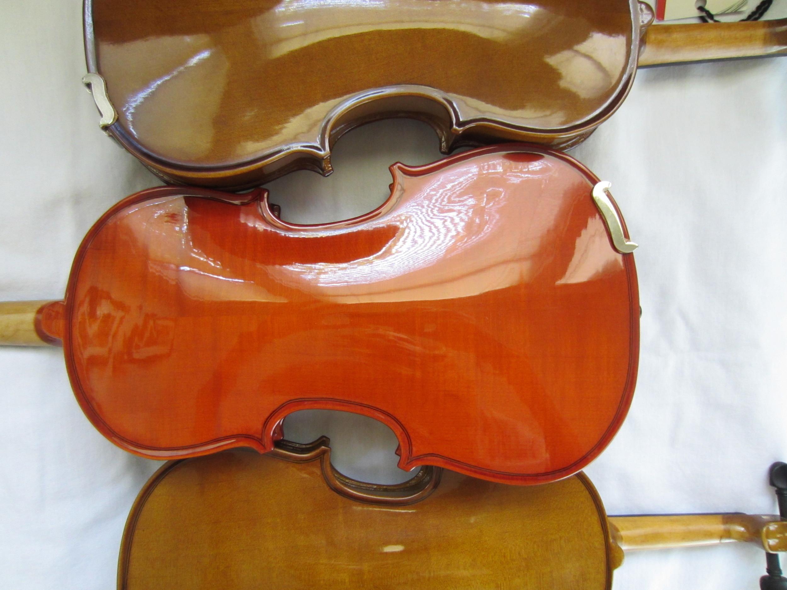 Back of Beginning Violins