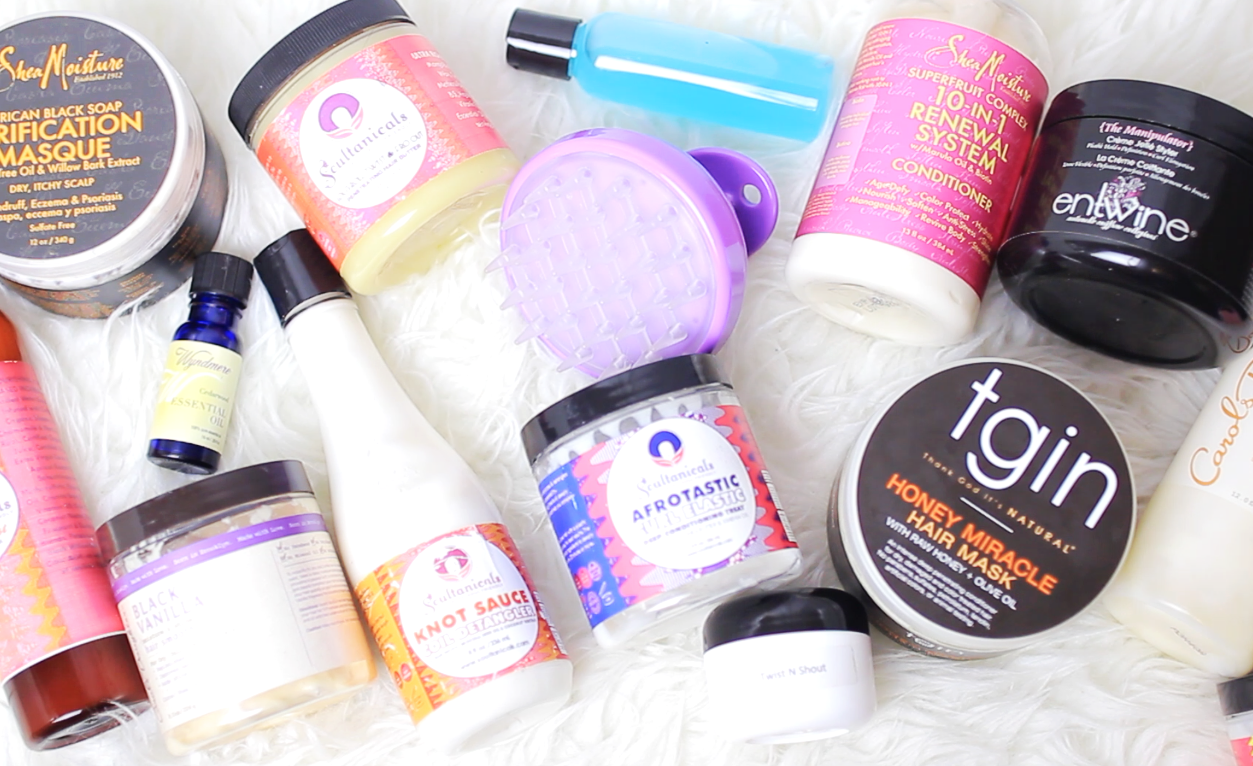 TOP NATURAL HAIR PRODUCTS