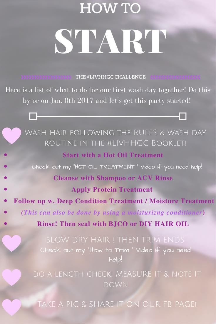 LIV HEALTHY HAIR GROWTH CHALLENGE