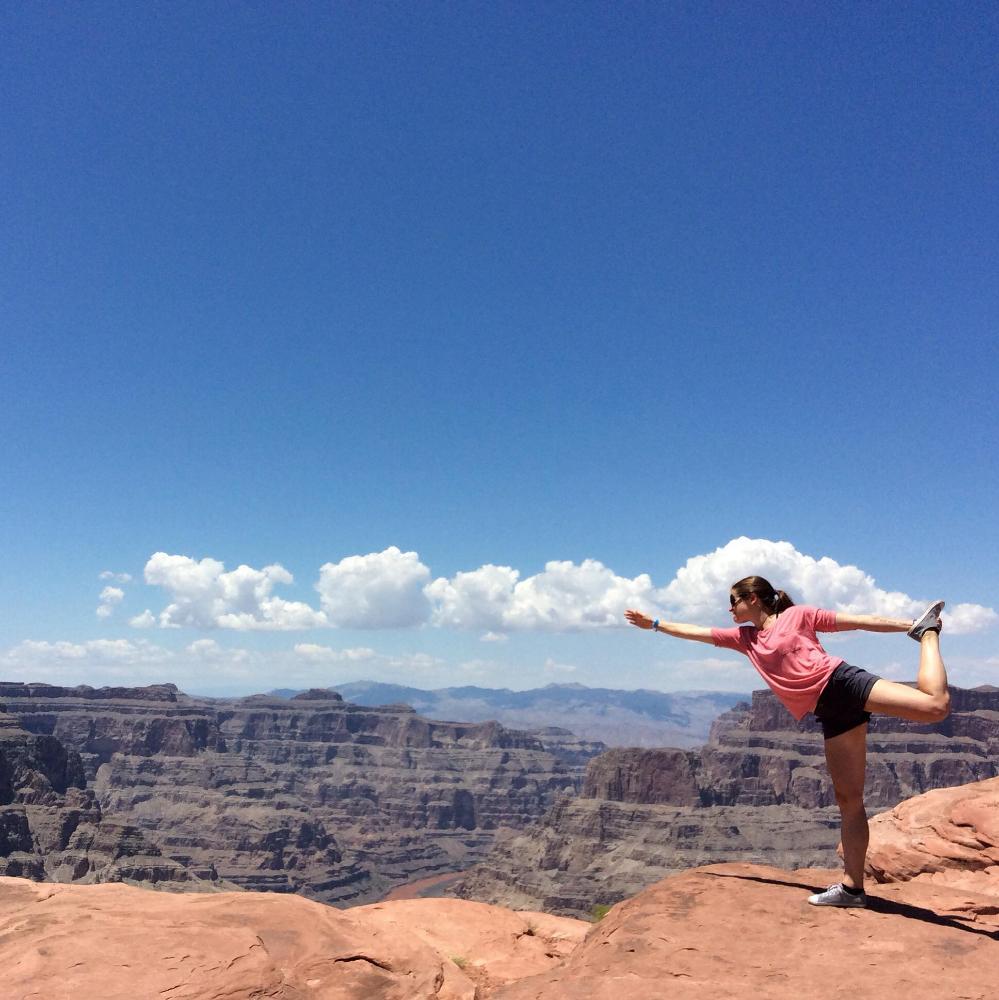 Bliss. West Rim of the Grand Canyon, Arizona.