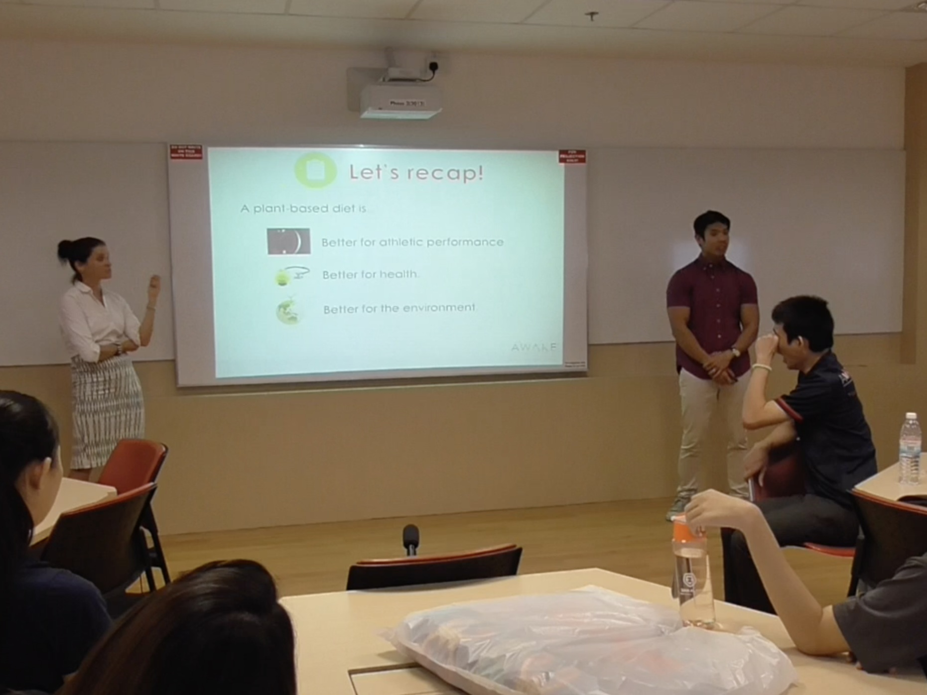 Presentation at Nanyang Technological University, Singapore