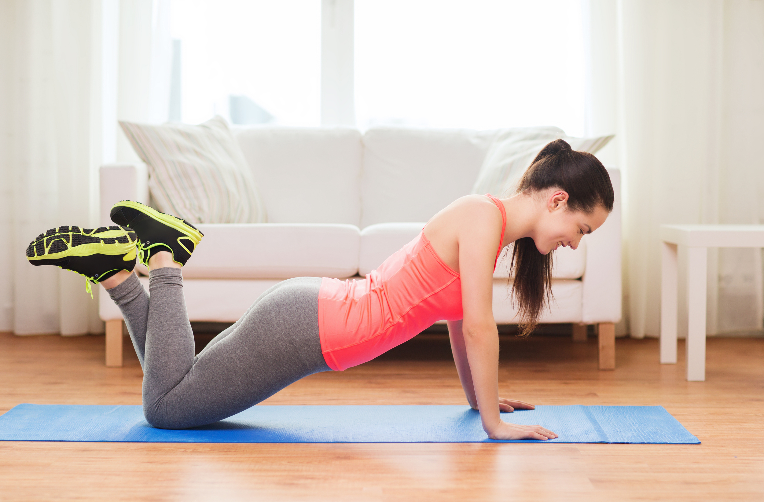 Exercise to increase metabolic rate, release endorphins and get strong and lean. bellamagazine.