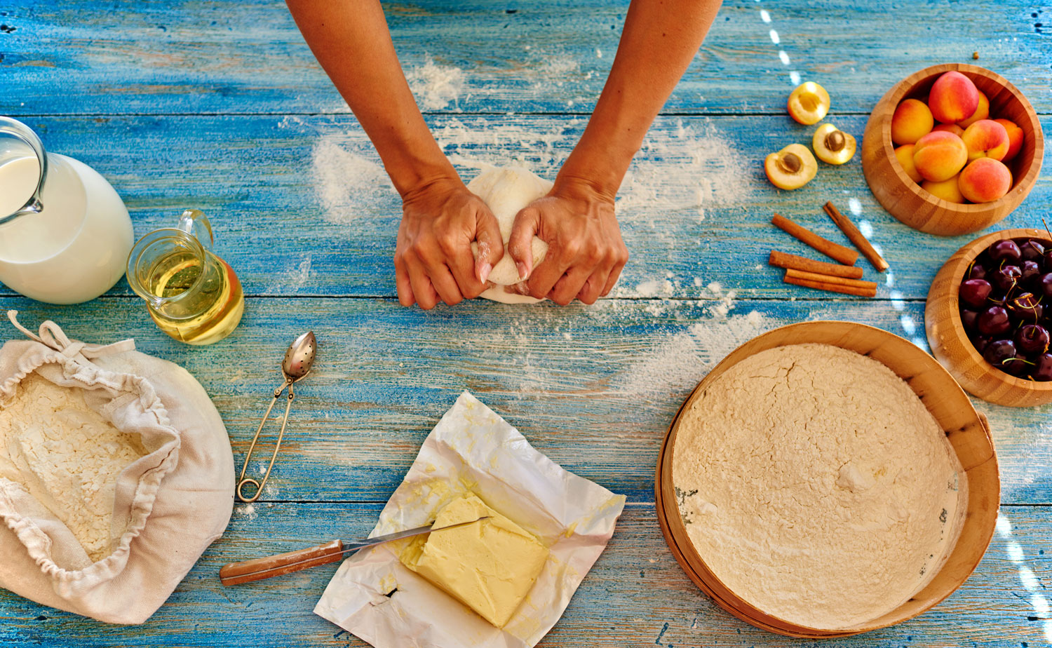 Baking takes time, so does growing up, young ladies.