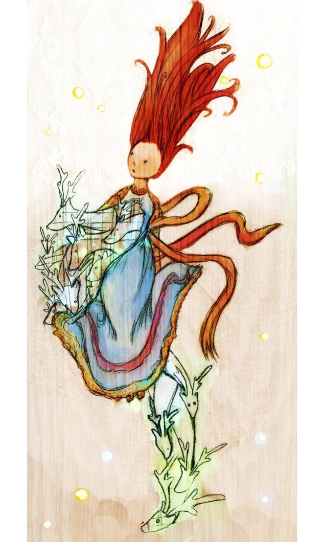 Go forth boldly, talented artist Katy McHugh.