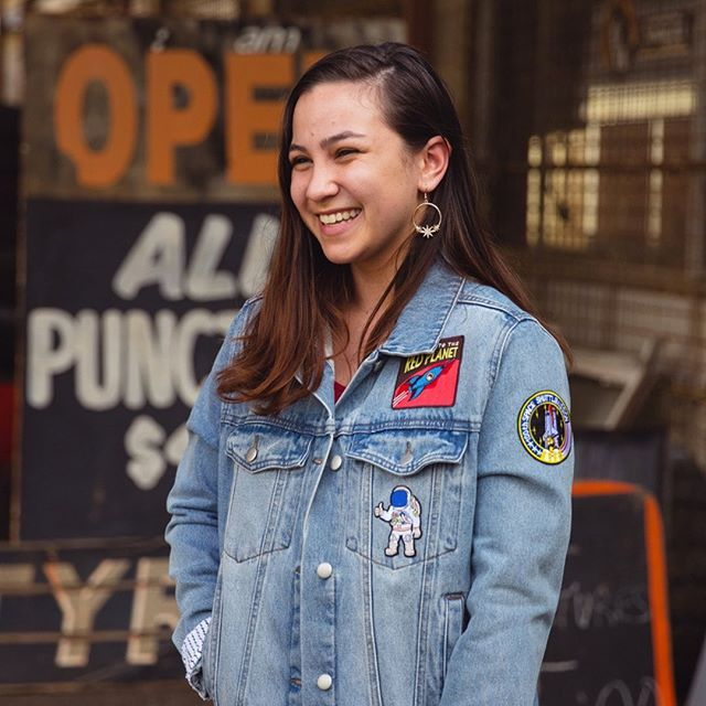 ⭐️ GIVEAWAY ⭐️  We're giving away this one-of-kind denim jacket customised by the bella rae team! (size 14). See this issue's DIY - it may feature there 😉  TO WIN 😍 1. Follow @bellaraemagazine  2. Like this post 3. Tag a rad friend below!   *Winner announced next Wed
