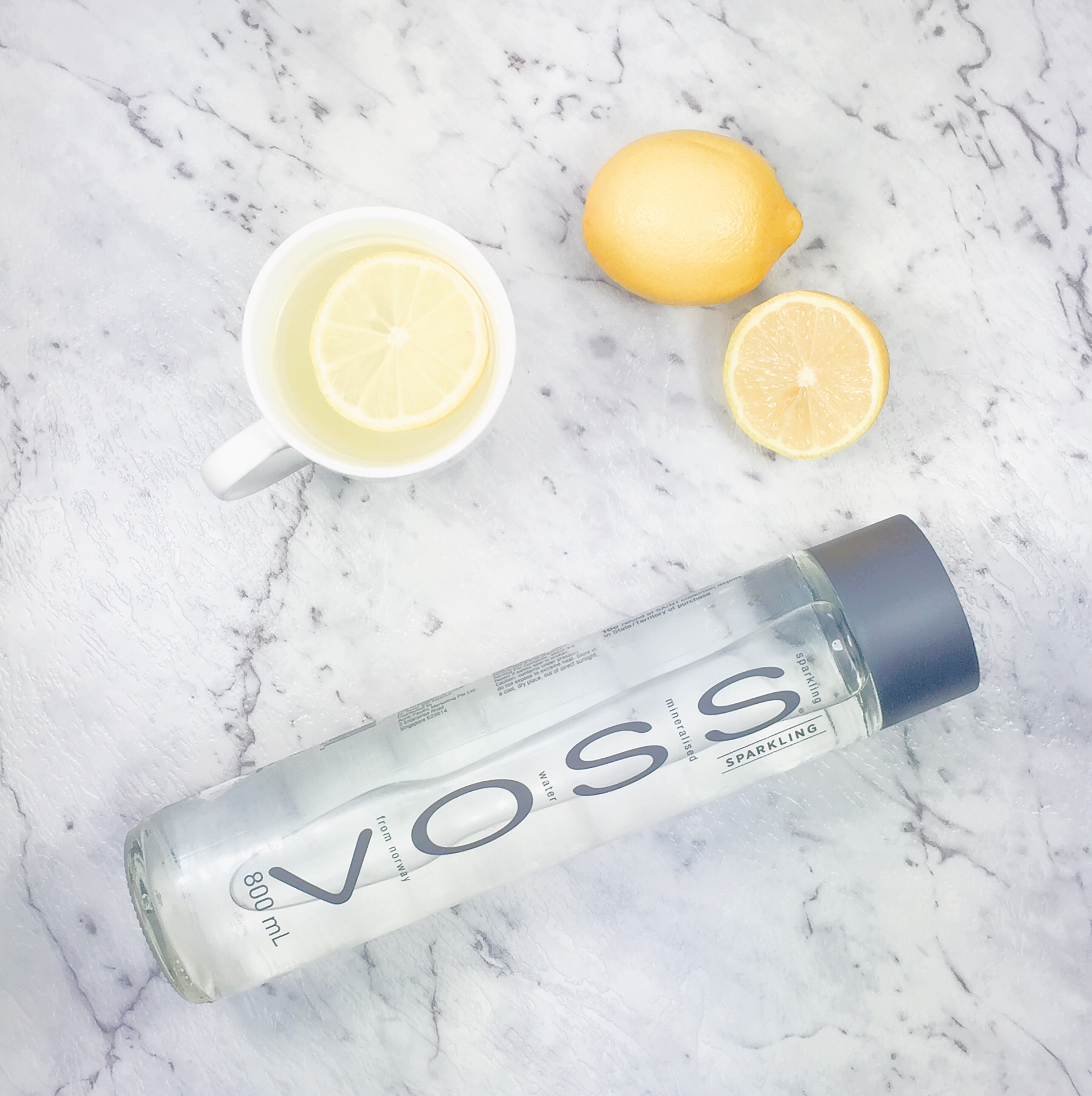 I love VOSS water but what I love more is the bottle which you can reuse and add your favourite fruits to and make delicious flavoured water!