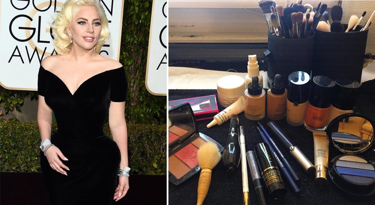 Lady Gaga Golden Globes 2016