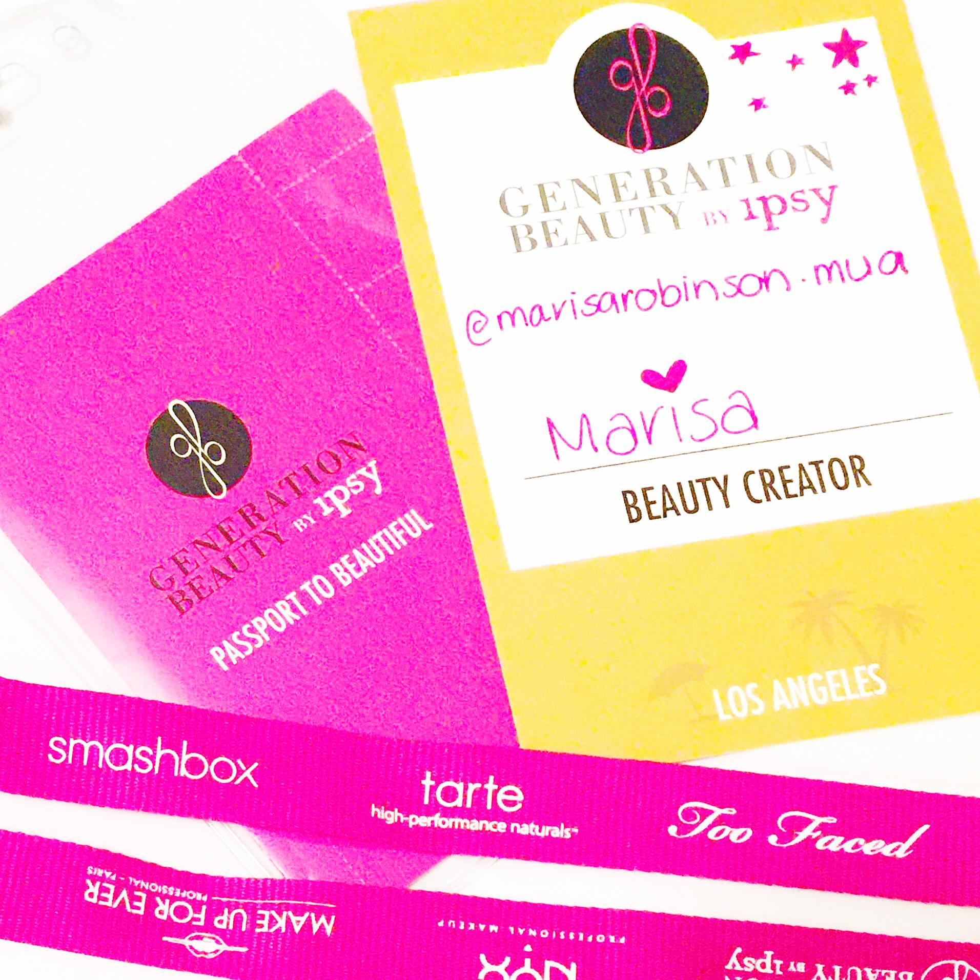 Marisa Robinson Makeup Artist Generation Beauty by Ipsy Passport to Beauty
