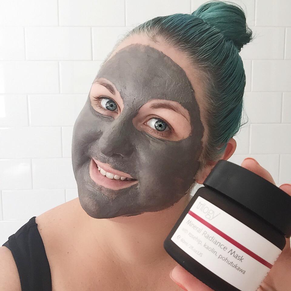 Marisa Robinson Makeup Artist trilogy Mineral Radiance Mask