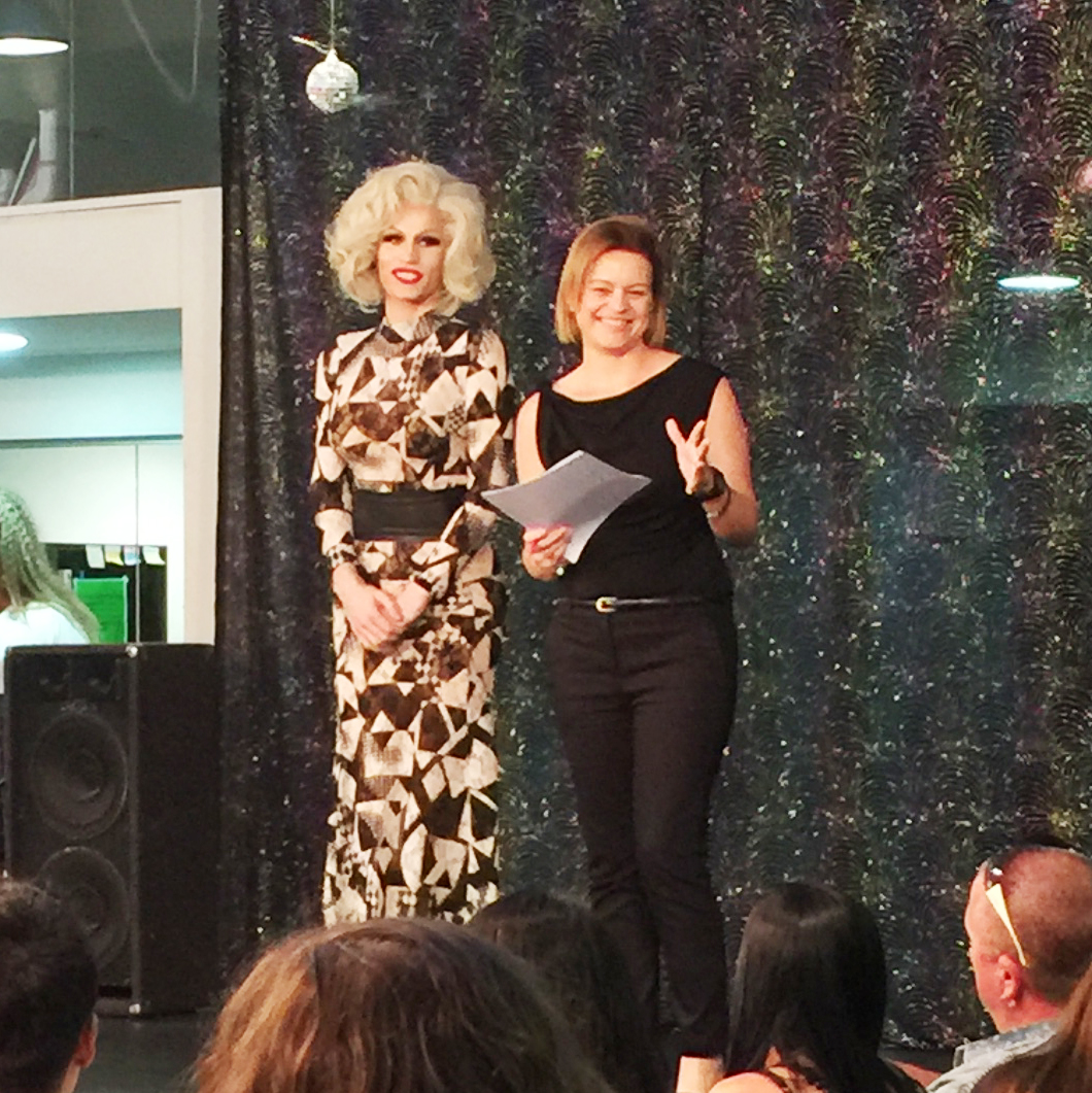 Marisa Robinson Makeup Artist TACB Drag and Divas Rhuma Hazzet