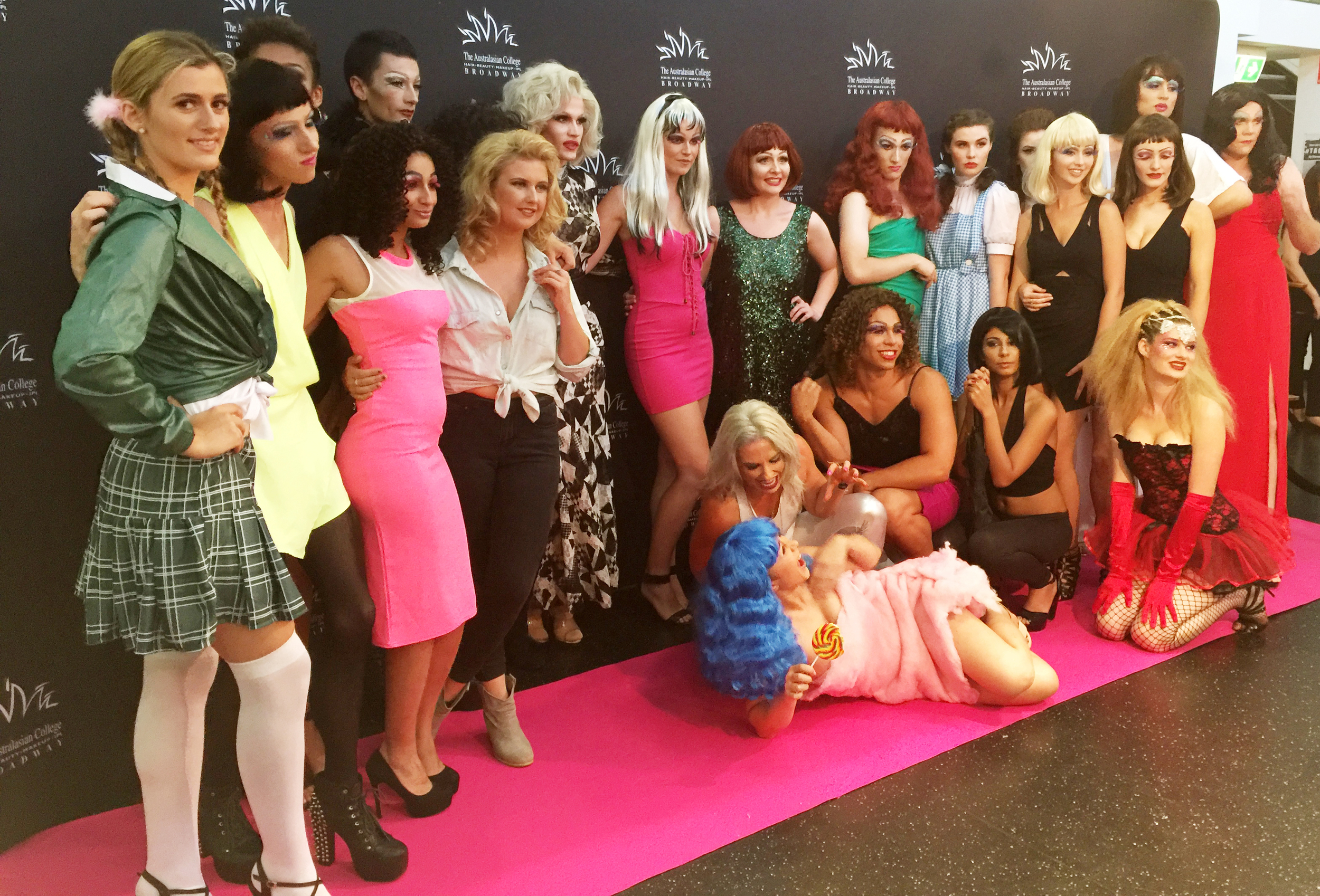 Marisa Robinson Makeup Artist TACB Drag and Divas