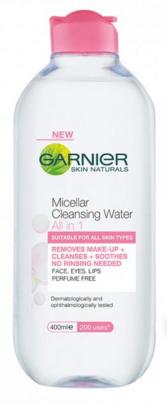 Marisa Robinson Makeup Artist Garnier Micellar Water