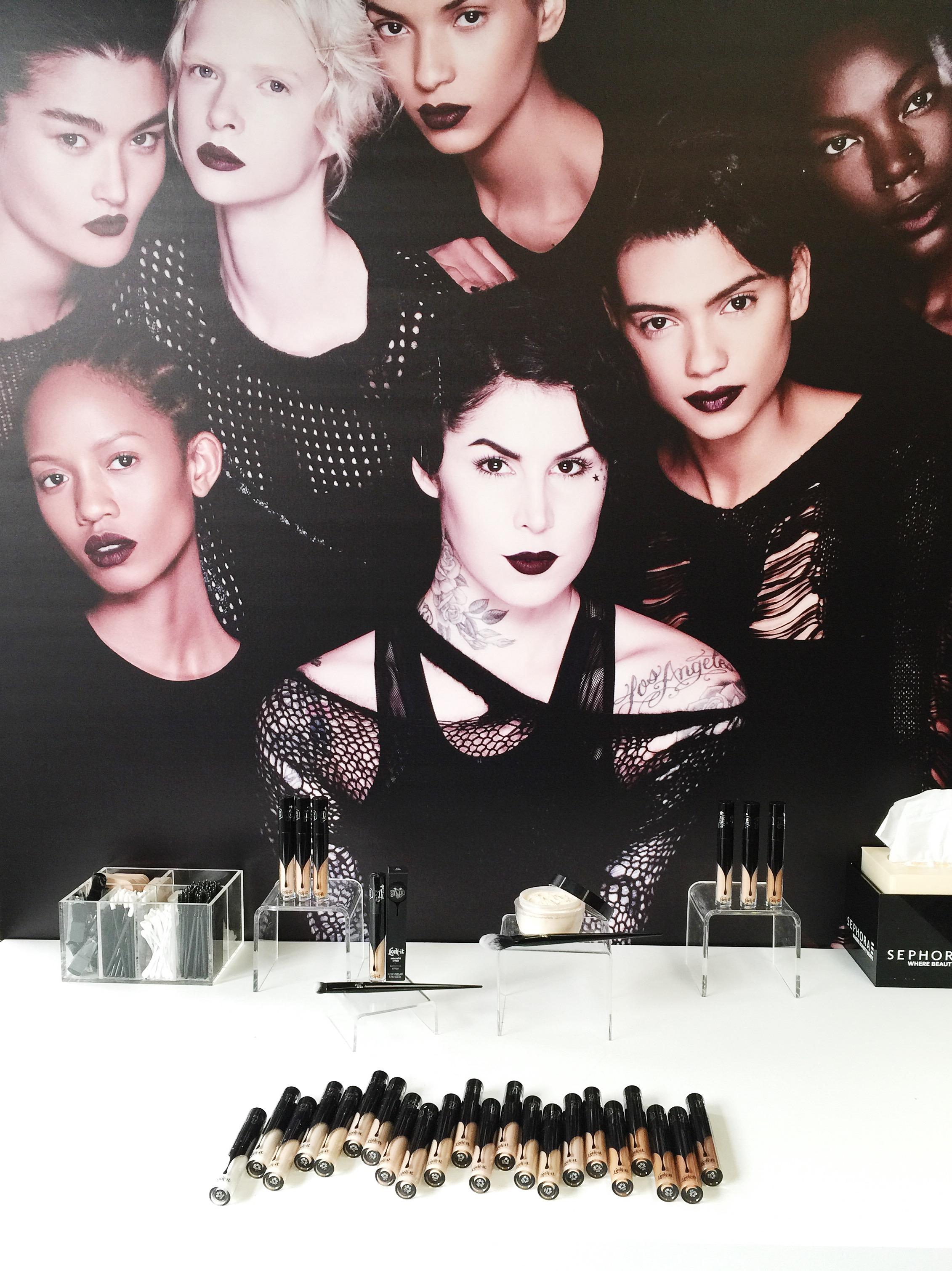 Marisa Robinson Makeup Artist Sephora Showcase Kat Von D Beauty