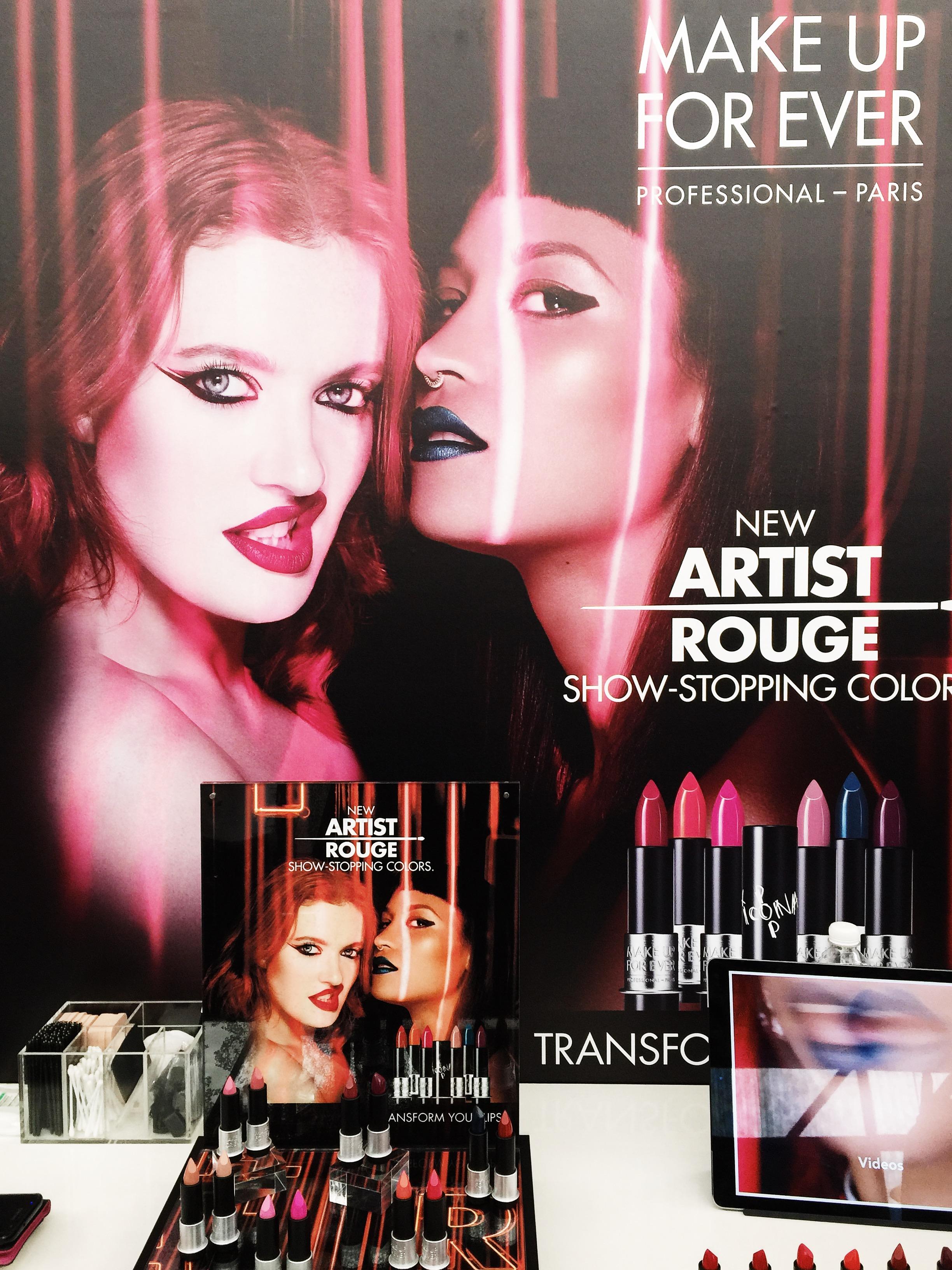 Marisa Robinson Makeup Artist Sephora Showcase Make Up For Ever