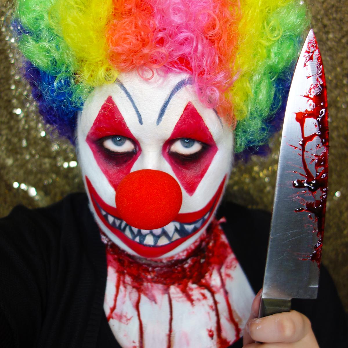 Marisa Robinson Makeup Artist Get The Look Halloween Killer Clown
