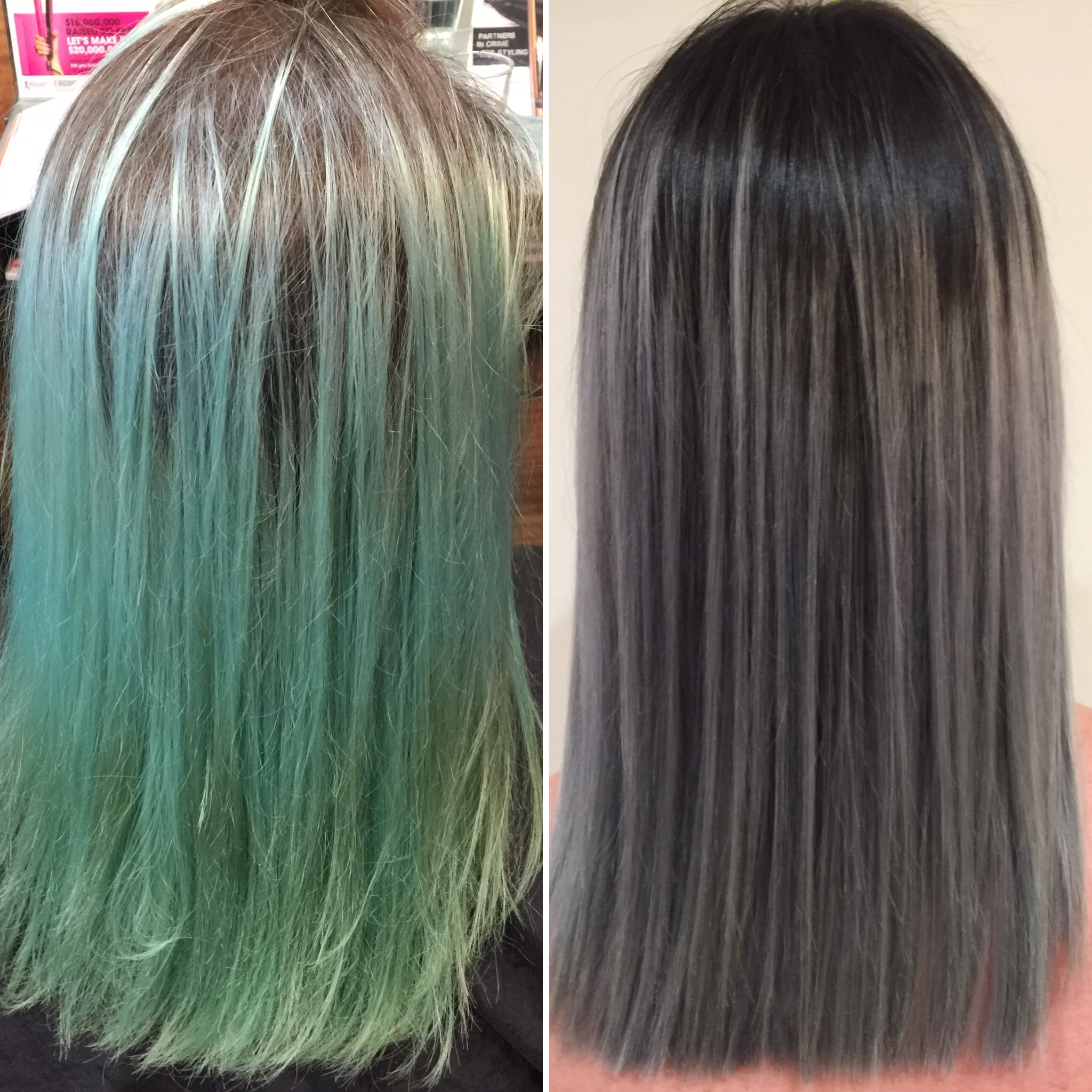 Before (left) +After (right)
