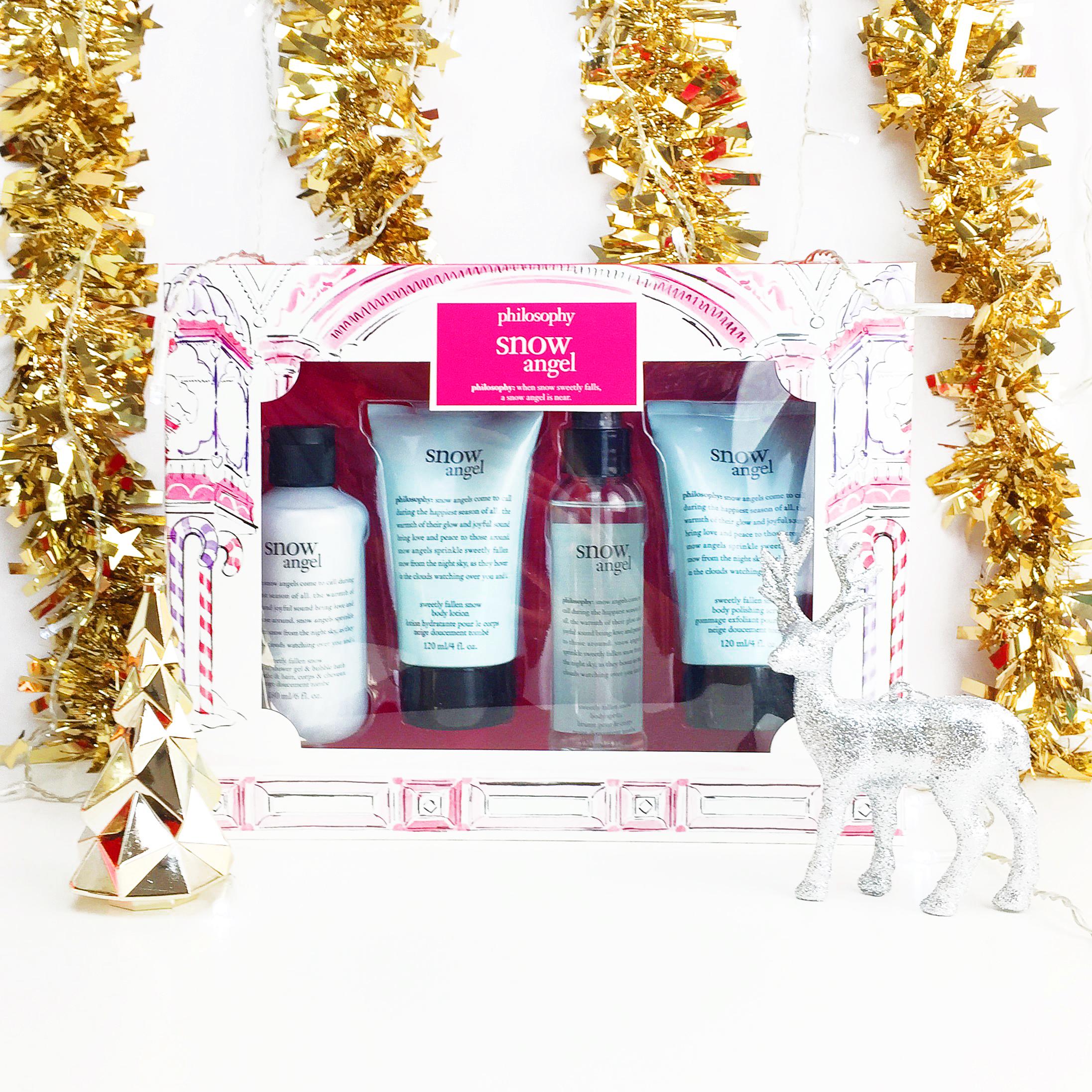 Marisa Robinson Makeup Artist 2016 Holiday Gift Guide Philosophy Snow Angel Set