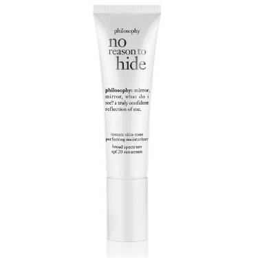 Marisa Robinson Beauty Blogger Summer Skin Part 3 Protect The Skin You're In philosophy No Reason To Hide Instant Skin Tone Perfecting Moisturiser
