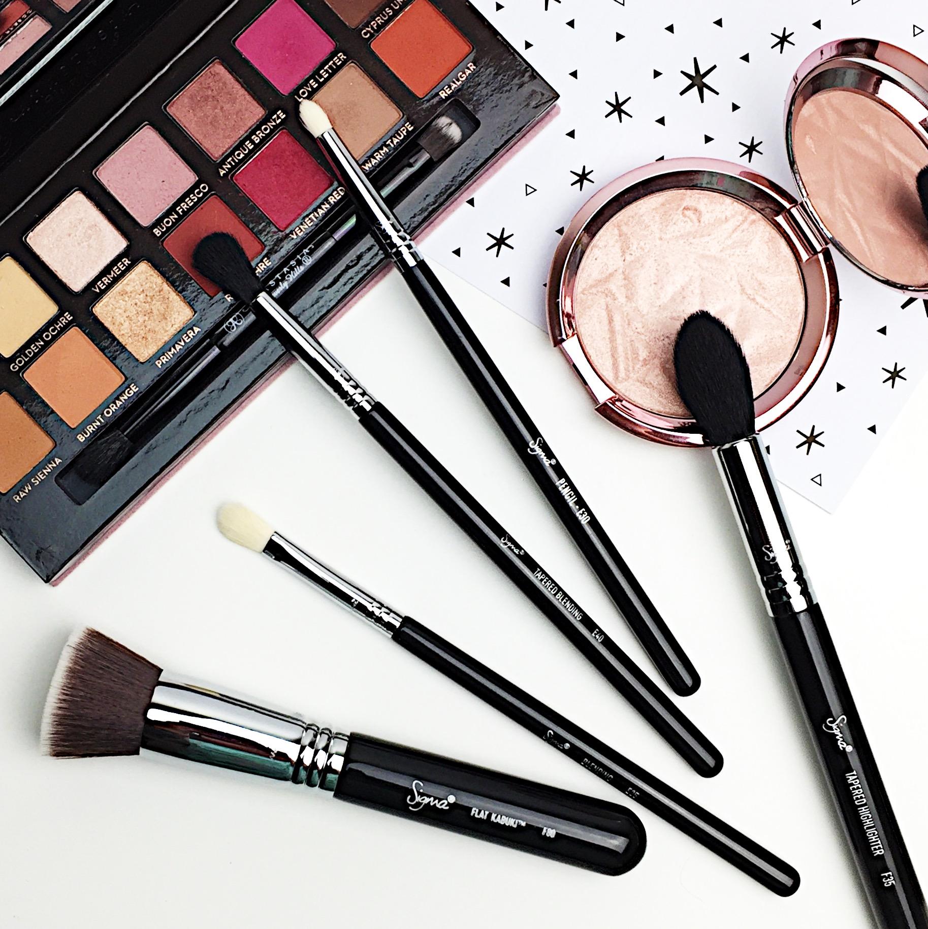 Marisa Robinson Beauty Blogger Sigma Most Wanted Brush Set Review