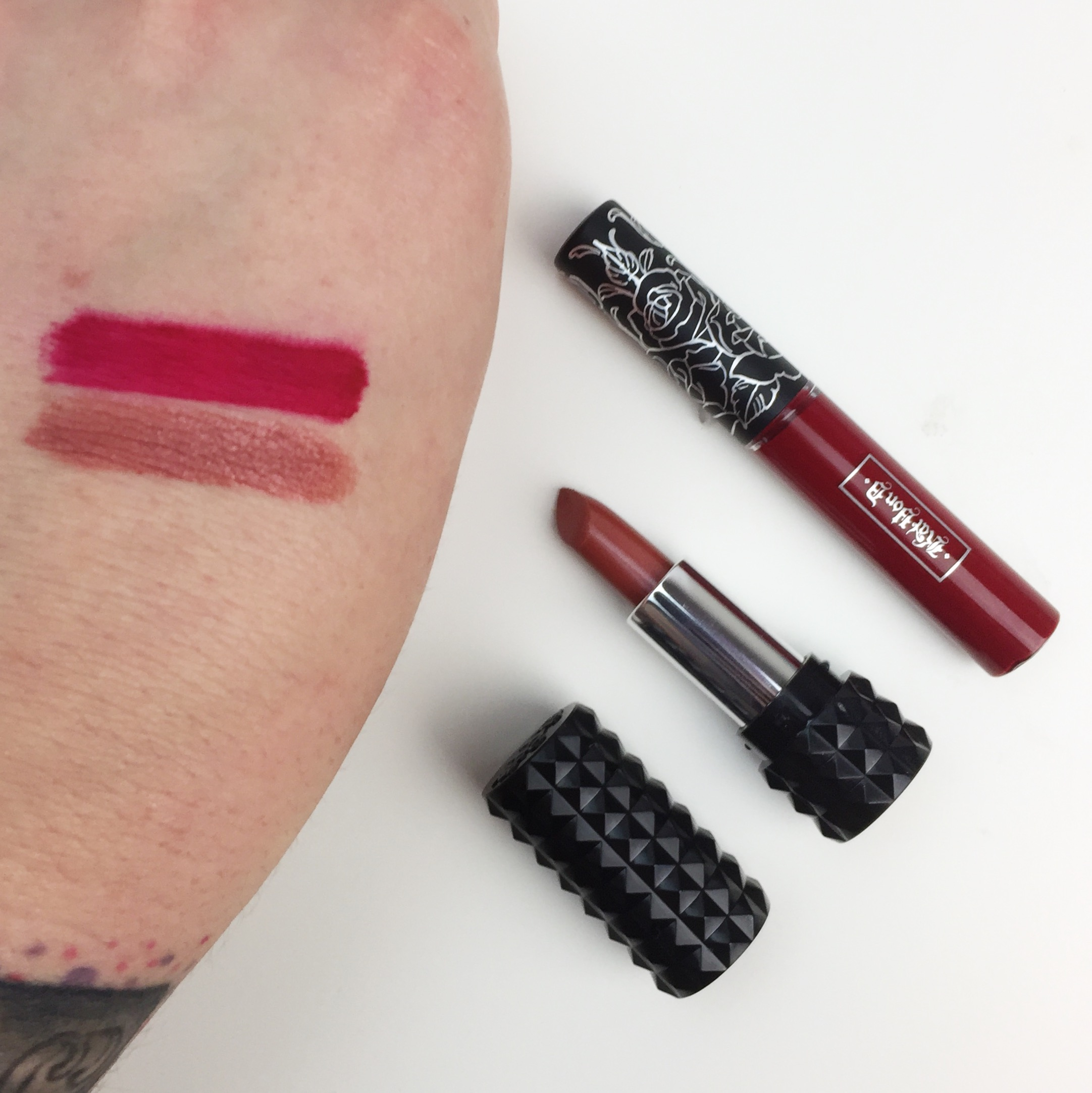 Believe The Hype: Kat Von D Better Together Collection Swatches - Artificial Light