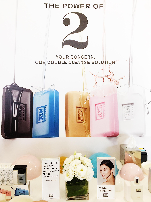 Marisa Robinson Beauty Blogger Sephora Exclusive Brands Showcase 2017 Erno Laszlo
