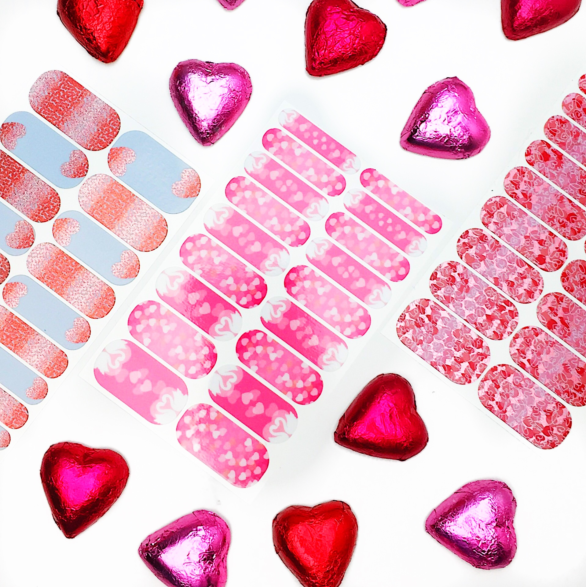 Marisa Robinson Beauty Blogger Valentine's Day Gift Guide Jamberry Nail Wraps
