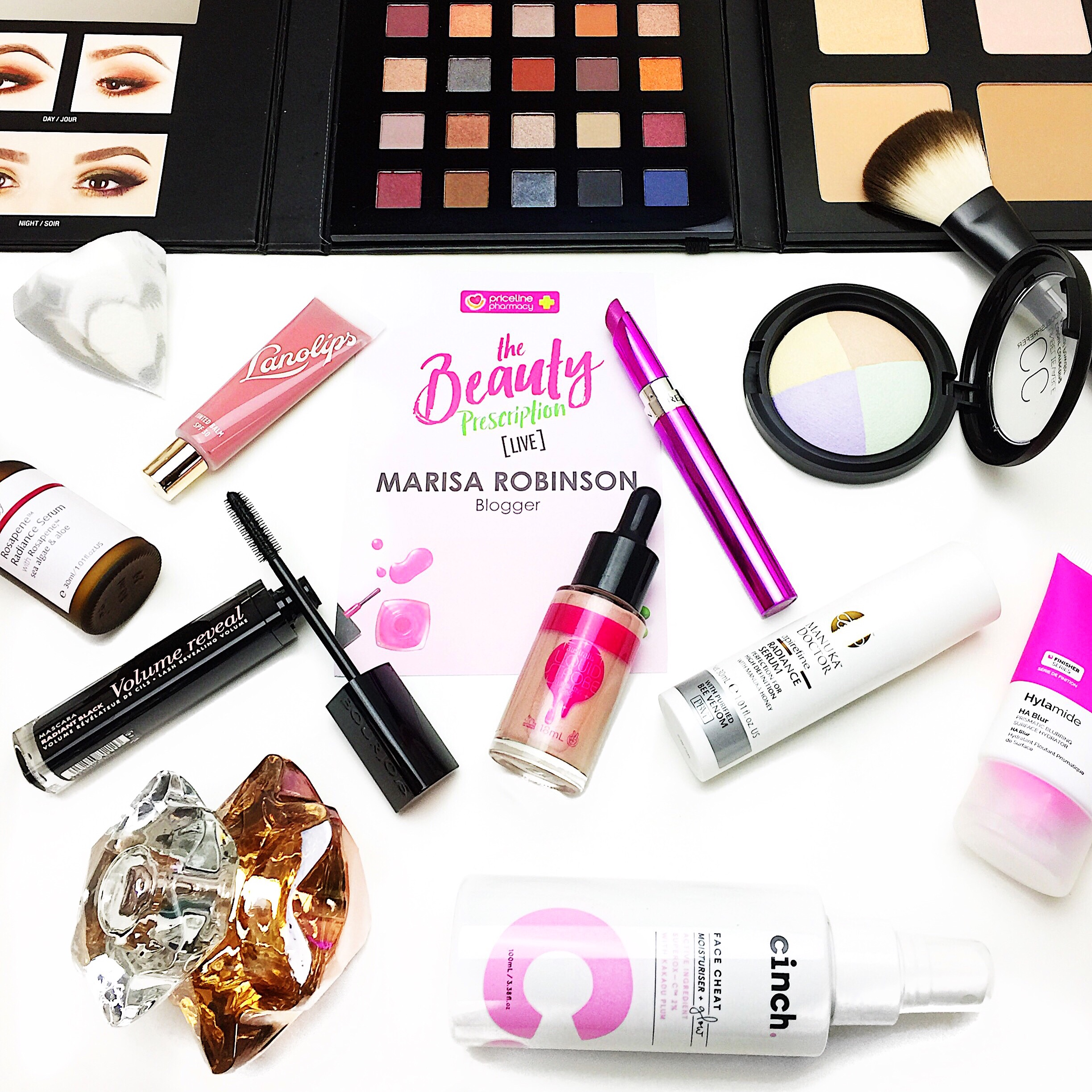 Marisa Robinson Beauty Blogger Priceline: The Beauty Prescription Event 2017 Priceline Beauty Prescription Live 2017