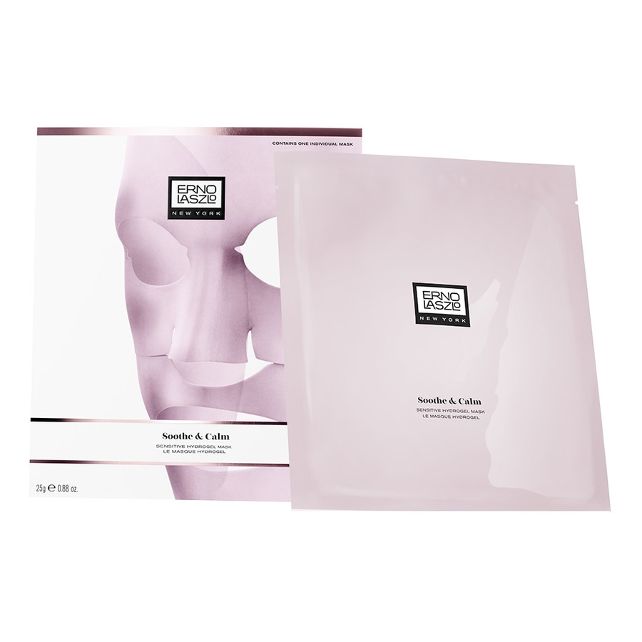 Marisa Robinson Beauty Blogger Erno Laszlo Soothe & Calm Hydrogel Mask