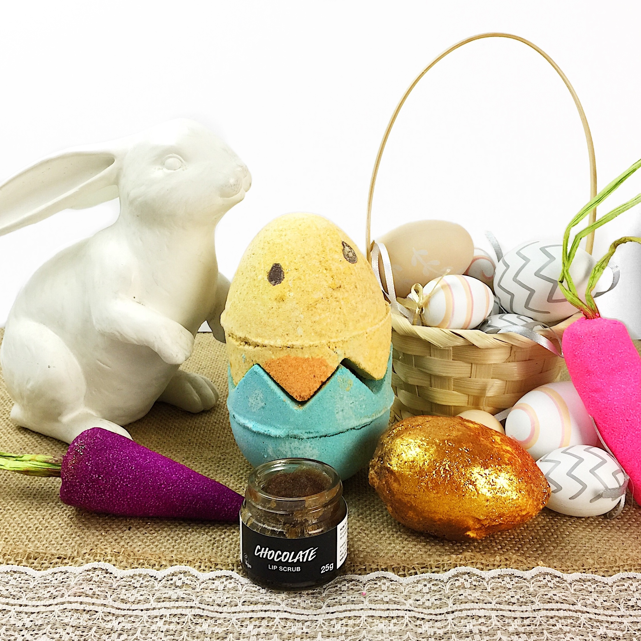 Marisa Robinson Beauty Blogger LUSH Easter Collection