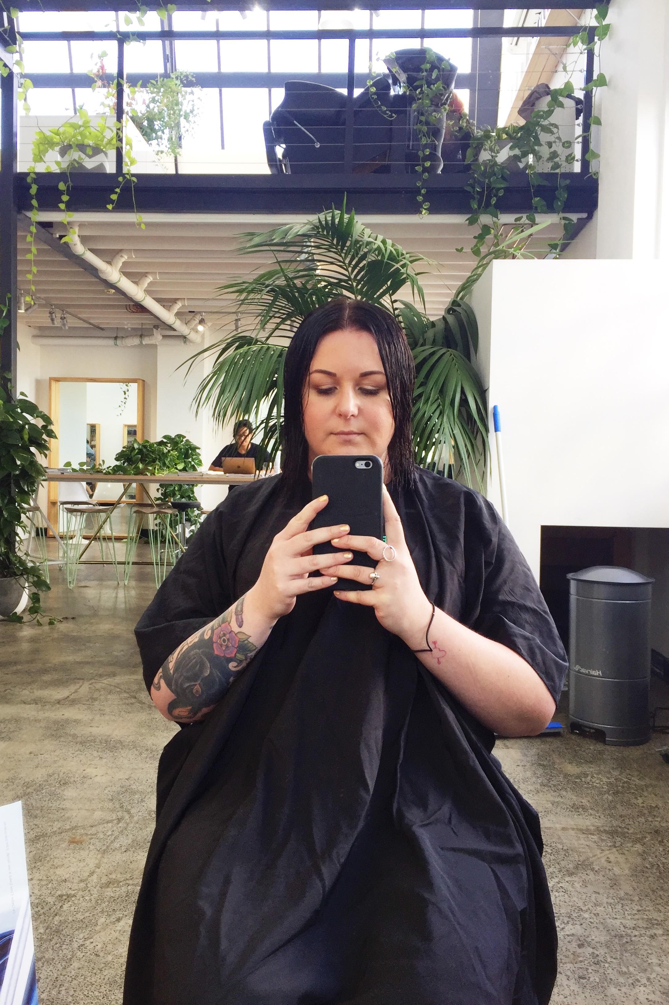 Marisa Robinson Beauty Blogger Edwards and Co Hair