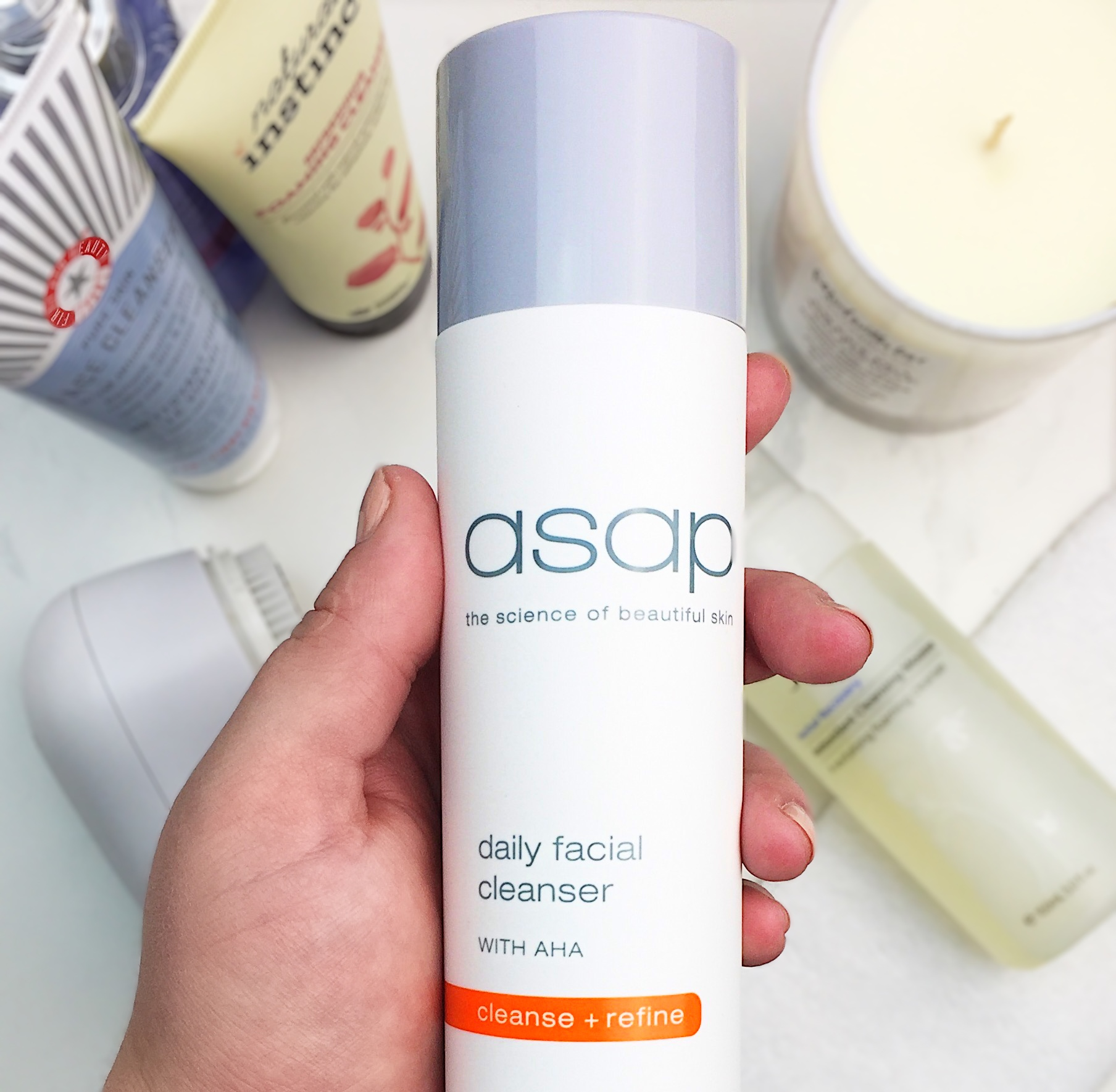 Marisa Robinson Beauty Blogger Ace Your Base Part 1 Cleansers ASAP Skincare