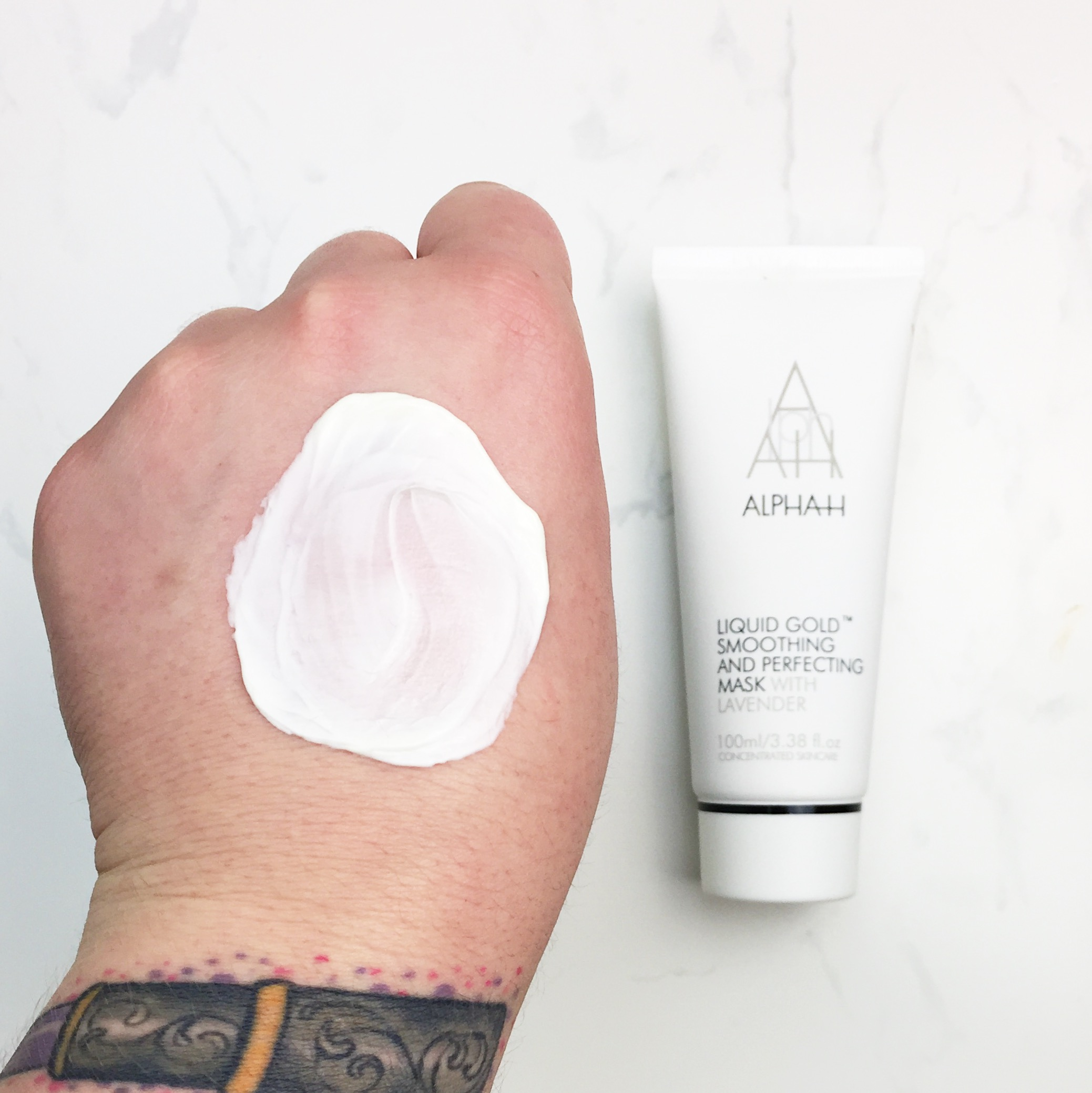 Marisa Robinson Beauty Blogger Ace Your Base Face Masks Alpha H Liquid Gold Smoothing and Perfecting Mask