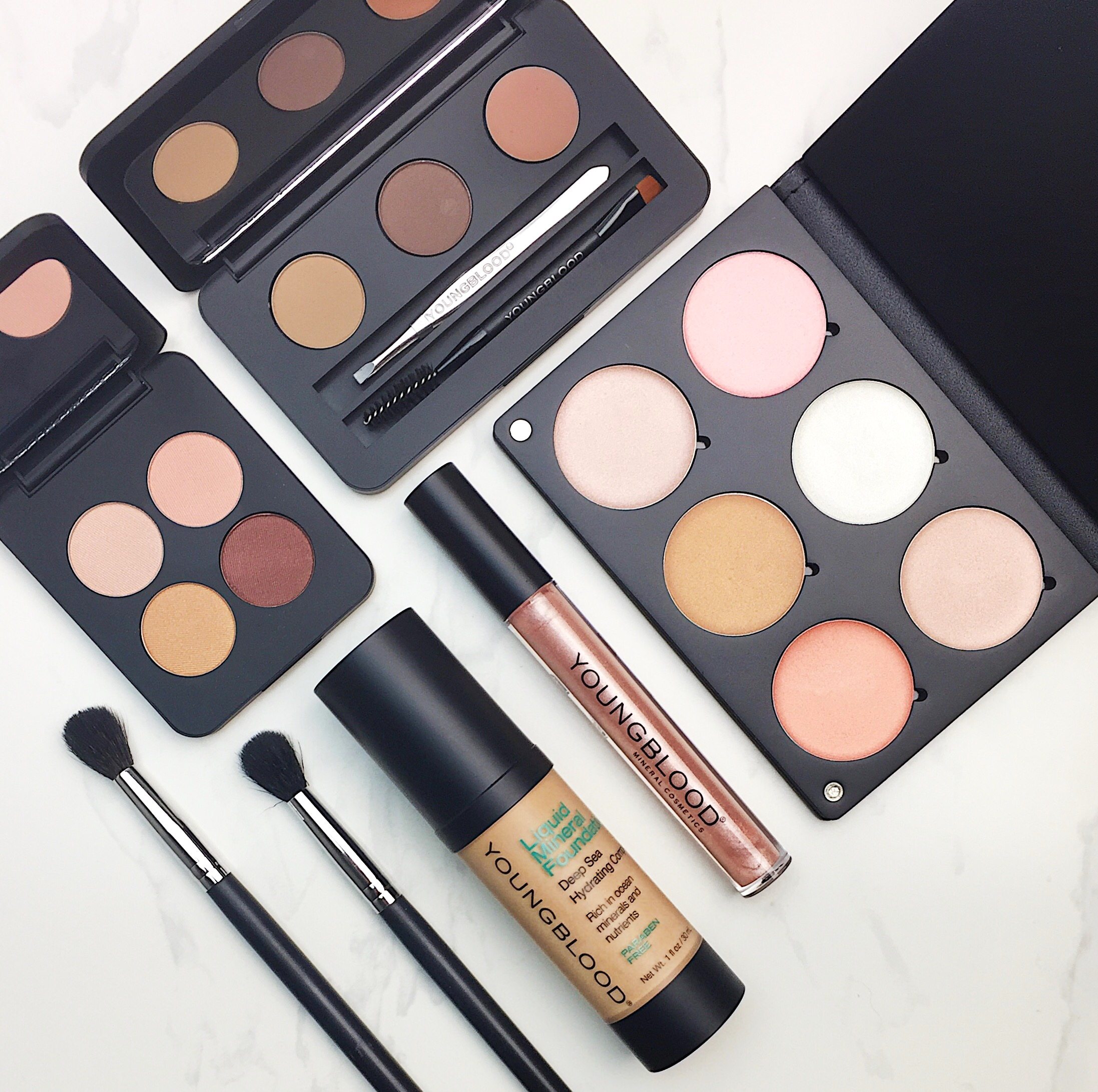 Marisa Robinson Beauty Blogger Youngblood Mineral Cosmetics Review and First Impressions