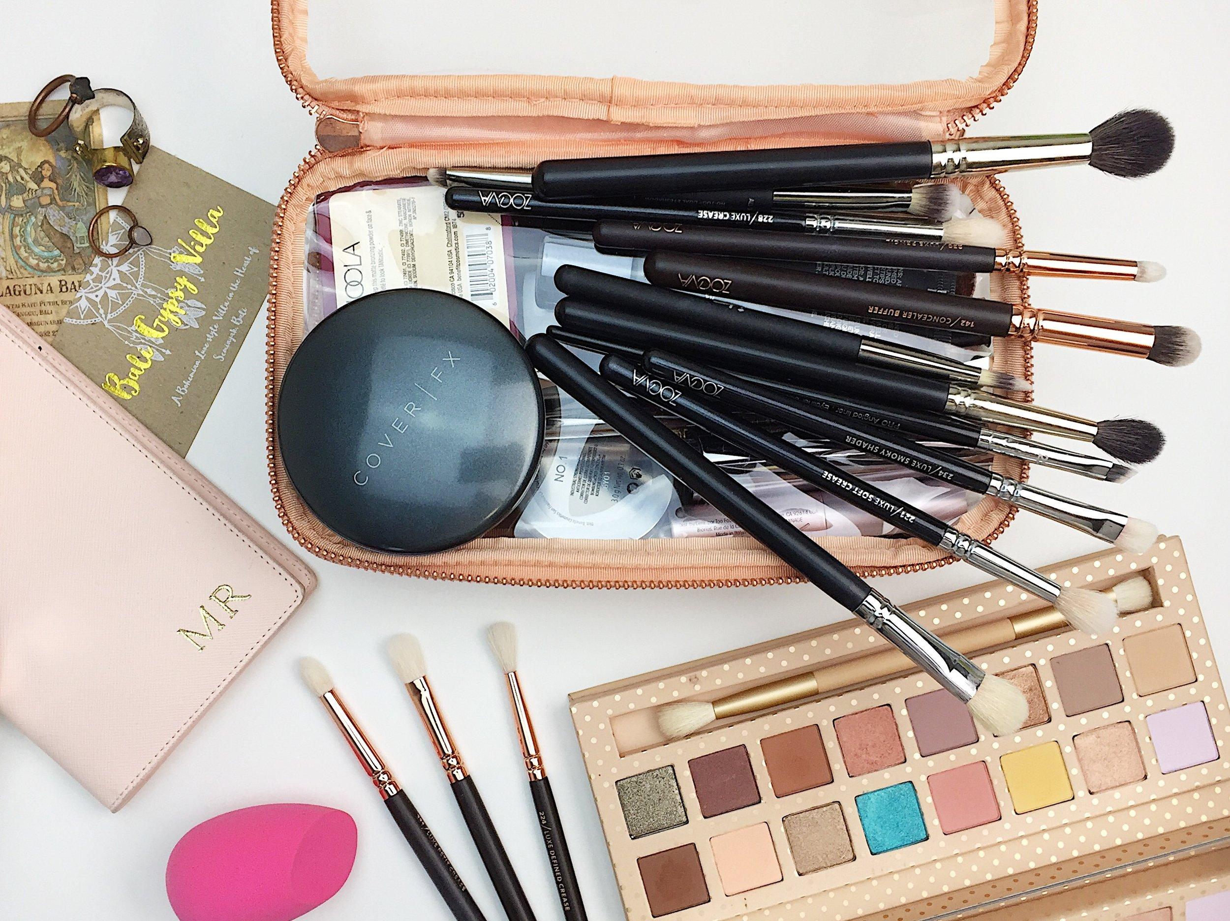 Marisa Robinson Beauty Blogger What's In My Bali Makeup Bag