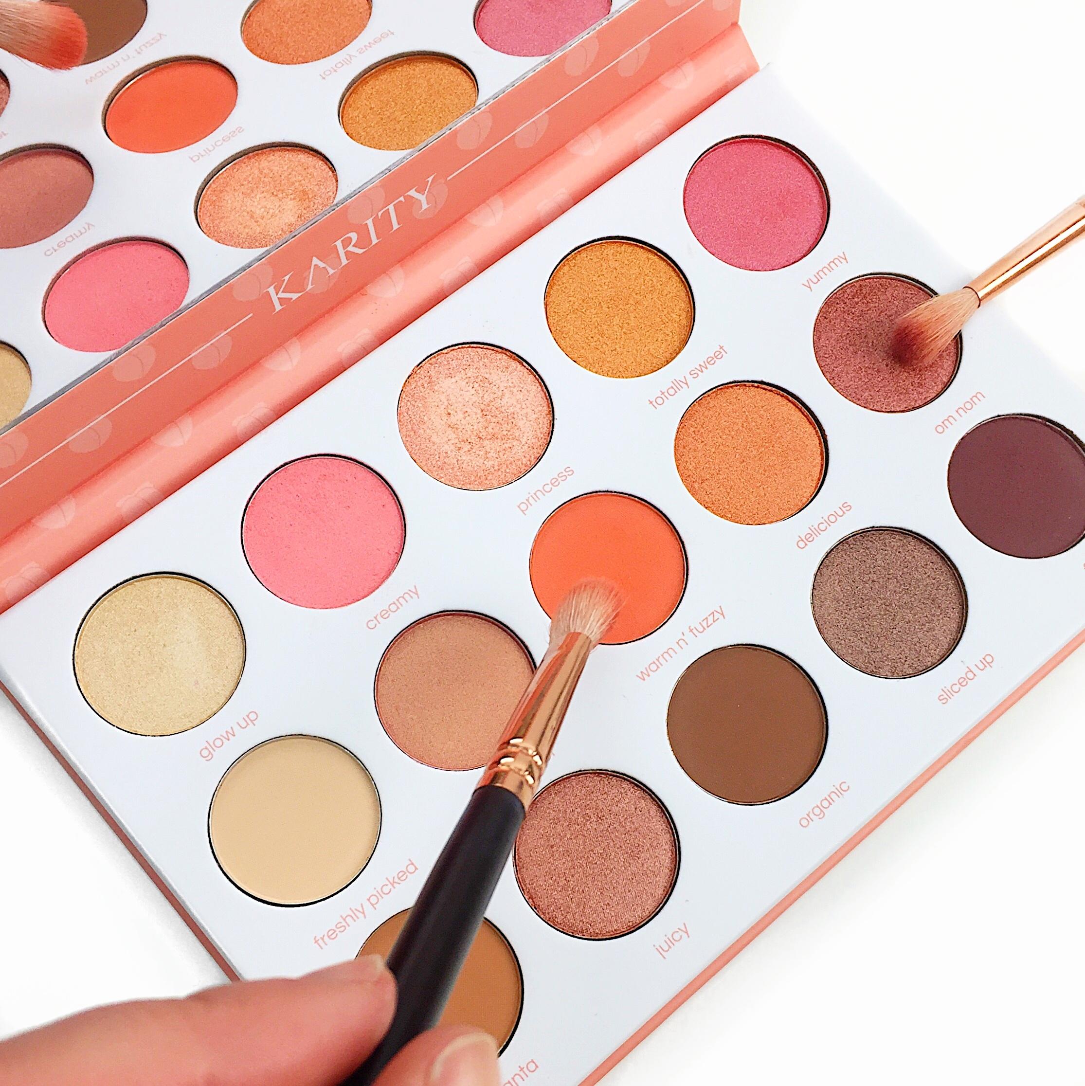 Marisa Robinson Beauty Peach Palettes Karity Just Peachy Palette