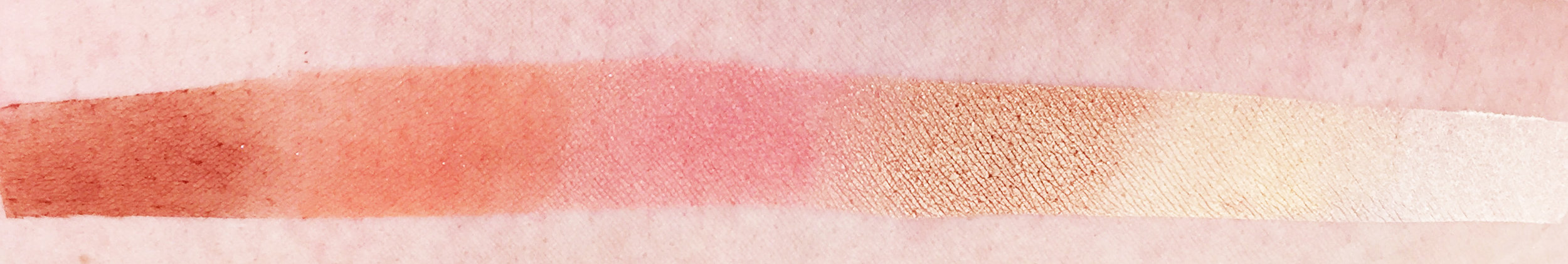 Marisa Robinson Beauty Peach Palettes Too Faced Sweet Peach Palette Swatches