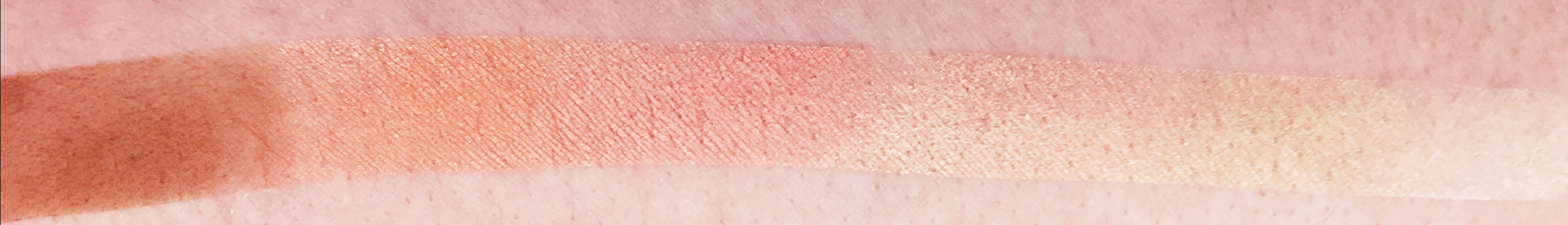 Marisa Robinson Beauty Peach Palettes BYS Peach Palette Swatches